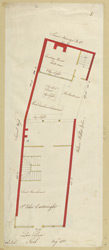 [Plan of property in Lad Lane] 170-D